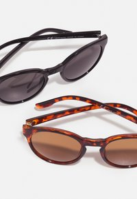 Zign - 2 PACK - Sunglasses - black/brown - 2