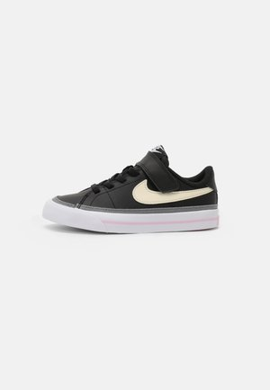 COURT LEGACY UNISEX - Sneakers laag - black/pink/white