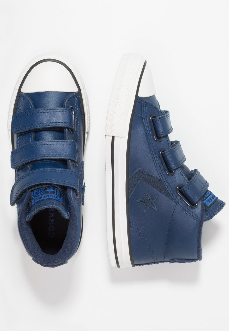 Converse - STAR PLAYER ASTEROID MID - Sneakers high - navy/obsidian/blue