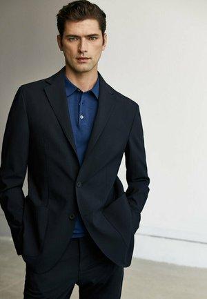 Blazer jacket - blue-black denim