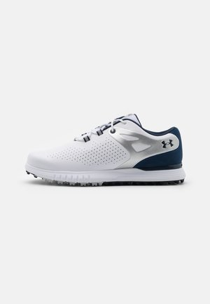 CHARGED BREATHE - Zapatos de golf - white