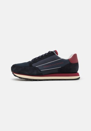 Trainers - navy/red