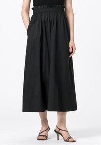 HALLHUBER - ROCK - Pleated skirt - schwarz - 0