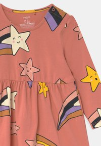 Lindex - SHOOTING STARS - Jersey dress - dusty coral - 2