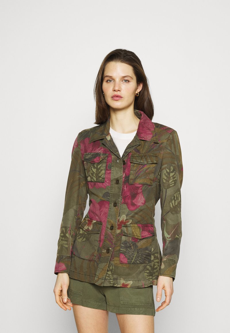Desigual - Summer jacket - green