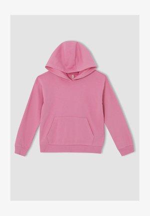 REGULAR FIT  - Sweat à capuche - pink
