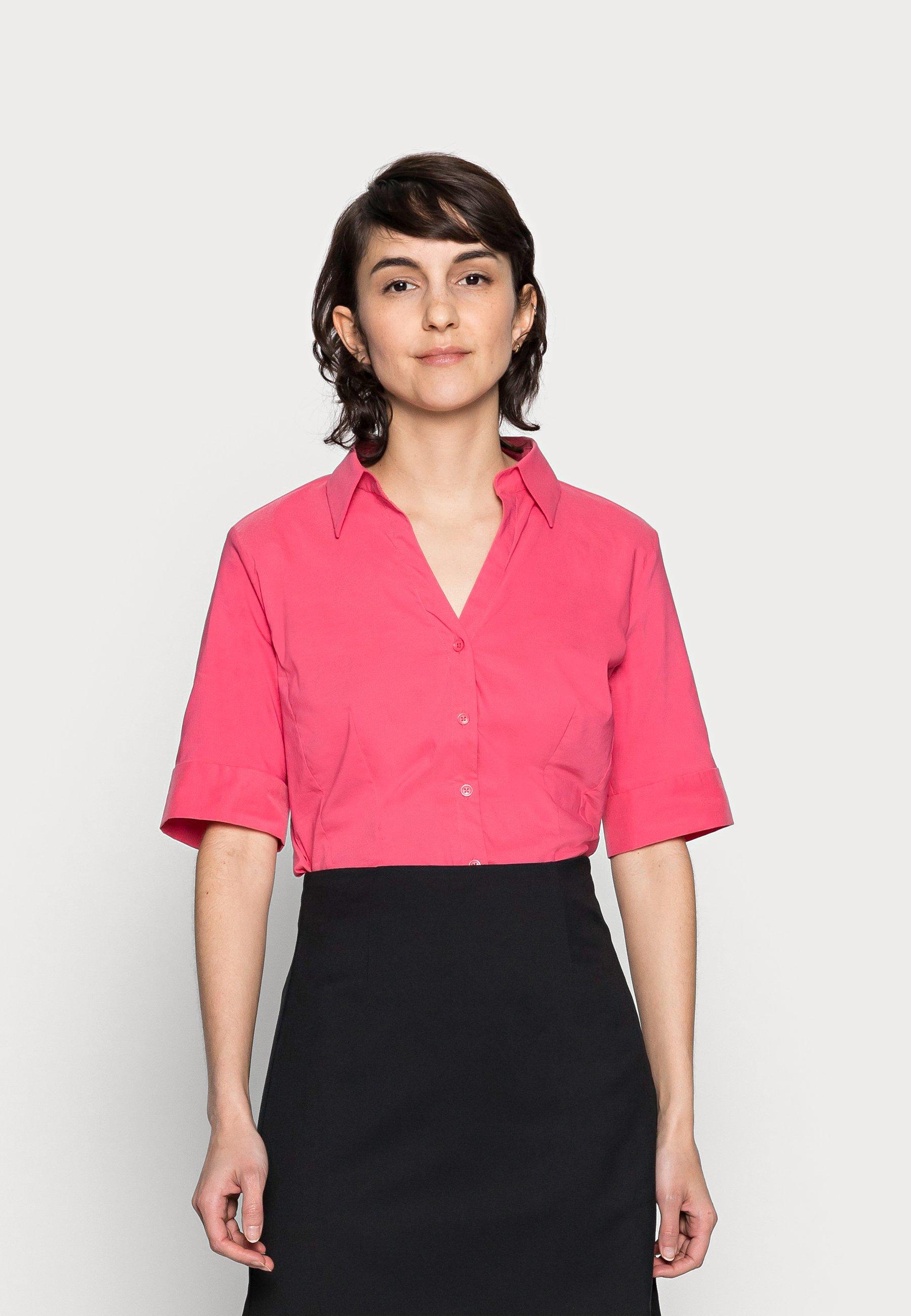 Women BLOUSE SLEEVE - Button-down blouse