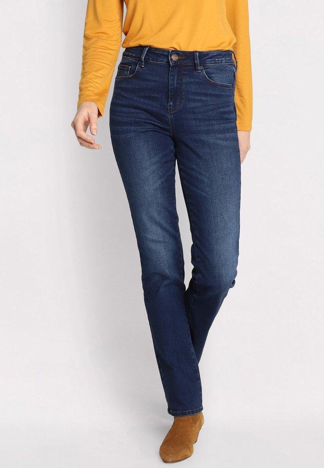 Straight leg jeans - denim brut