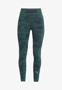 Puma - EVOKNIT SEAMLESS LEGGINGS - Tights - ponderosa pine - 5