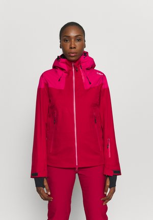 WOMAN JACKET HOOD - Lyžařská bunda - magenta