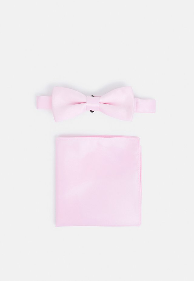 ONSTRENT BOW TIE BOX HANKERCHIEF SET - Mouchoir de poche - blushing bride