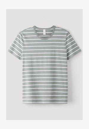 KURZARM AUS REINER BIO-BAUMWOLLE - T-shirt print - salbei