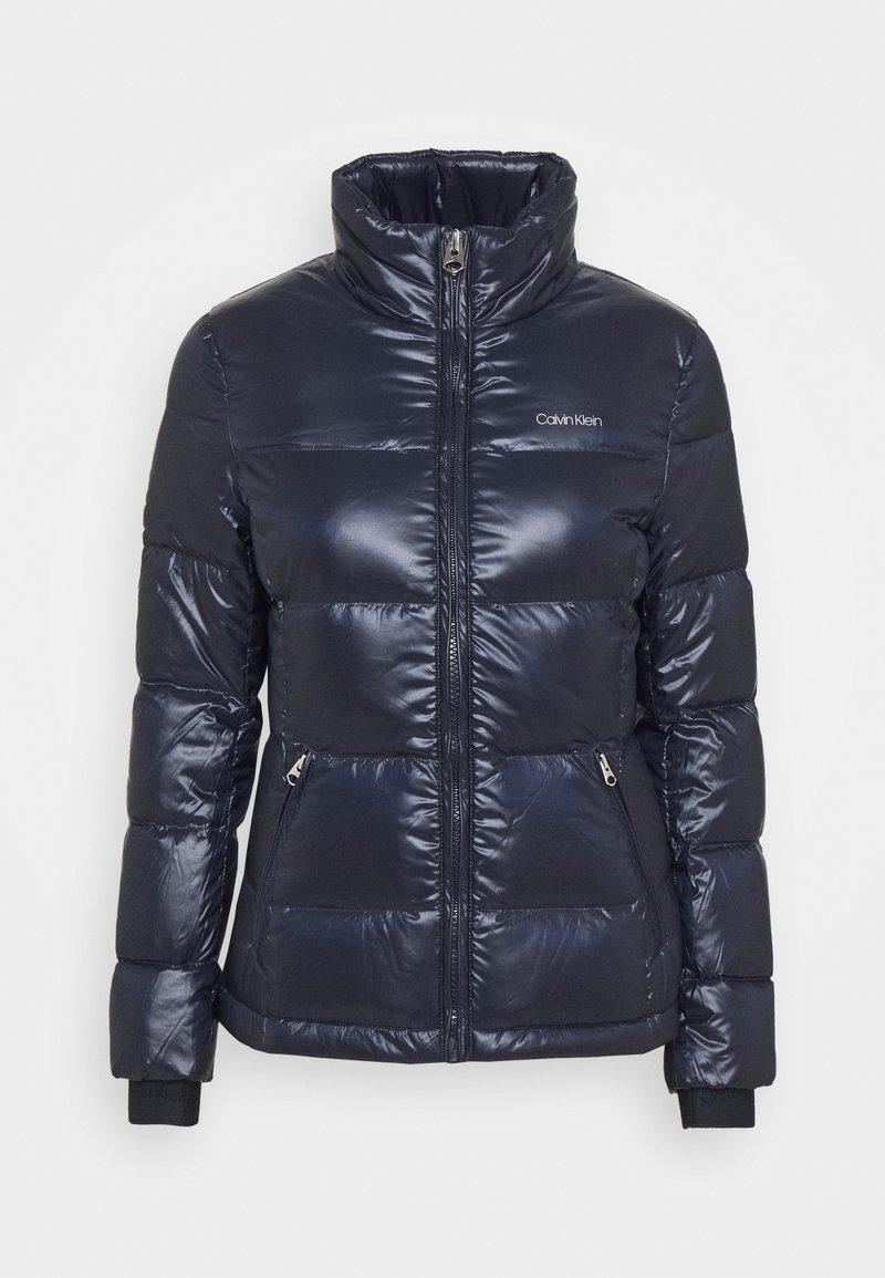 Calvin Klein - LOFTY SHORT JACKET - Down jacket - navy