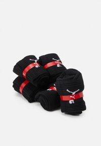 Puma - SHORT CREW 6 PACK UNISEX - Calcetines de deporte - black - 1