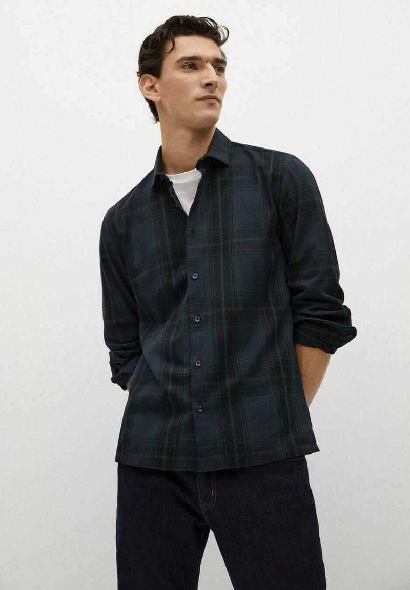 Mango - CAB - Overhemd - marineblau