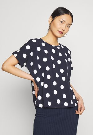 SUNDA - T-shirts med print - just blue