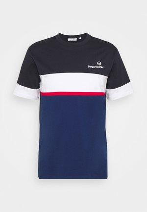 NEBON - Print T-shirt - navy