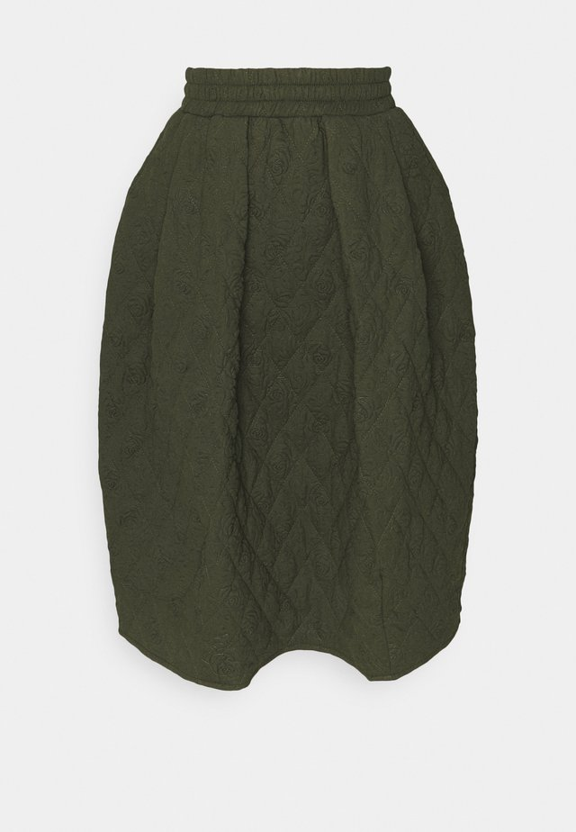 LULU SKIRT - Gonna a campana - green