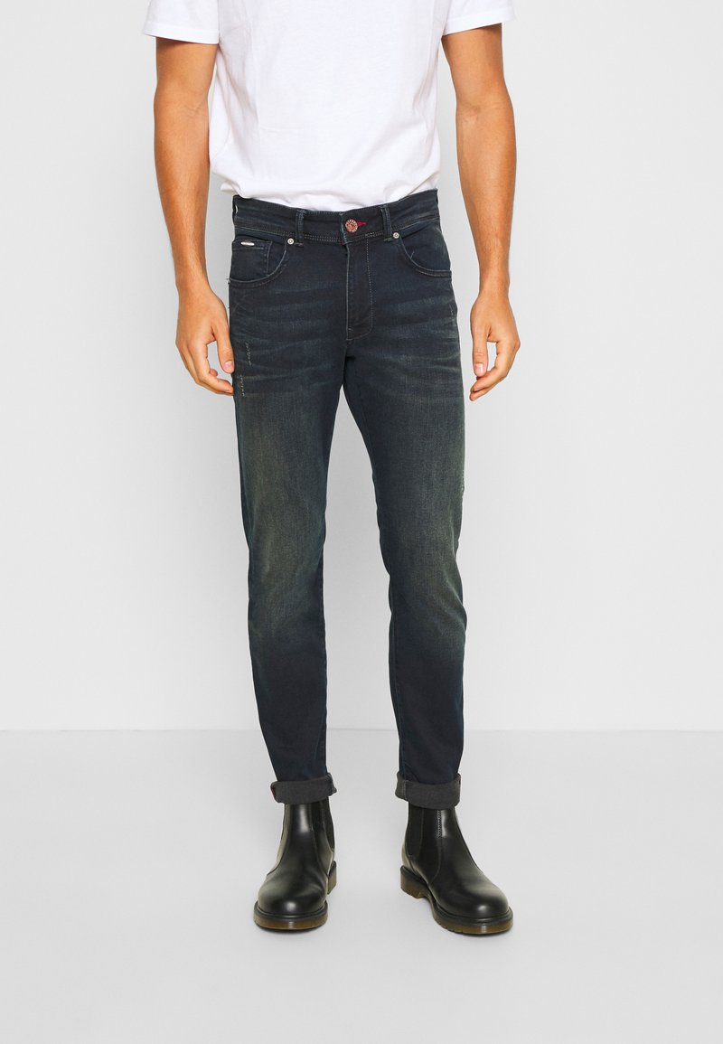 Petrol Industries - SEAHAM VINTAGE - Slim fit jeans - dark blue