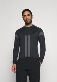 Vaude - MENS MATERA TRICOT - Long sleeved top - black - 0