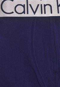 Calvin Klein Underwear - TRUNK 3 PACK - Culotte - hemisphere/hydrangea/purple fuss - 10