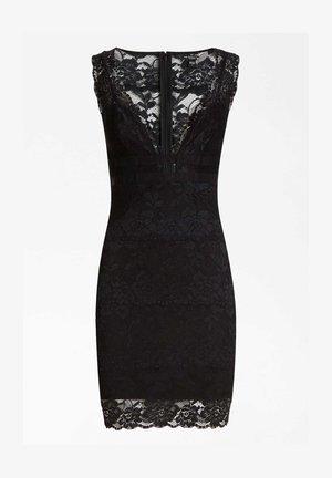 GUESS KLEID SPITZE - Shift dress - schwarz