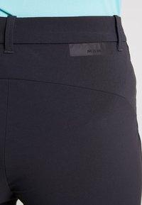 Mammut - HIKING PANTS WOMEN - Outdoor trousers - black - 5