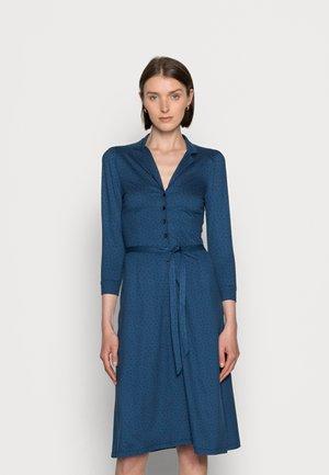 LOLA BUTTON DRESS LITTLE DOTS - Jersey dress - blue dawn