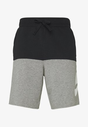 ALUMNI - Shorts - black/carbon heather/(white)