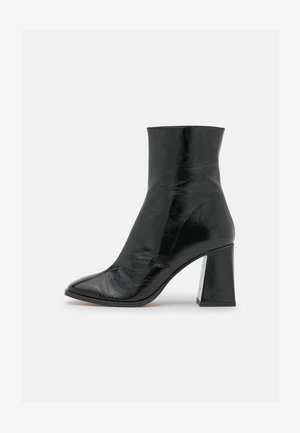 Classic ankle boots - black/beige