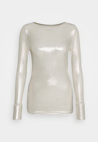 Pinko - TEREK - Bluzka z długim rękawem - oro/avorio - 3