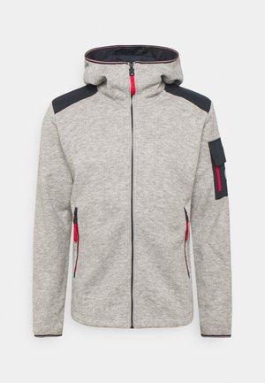 HUHTA - Fleece jacket - light grey