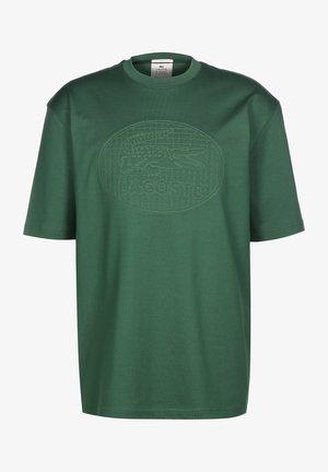 T-shirt med print - vert