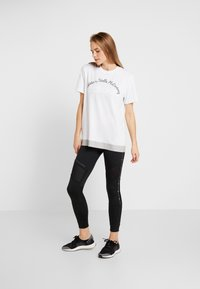 adidas by Stella McCartney - LOGO TEE - Print T-shirt - white - 1