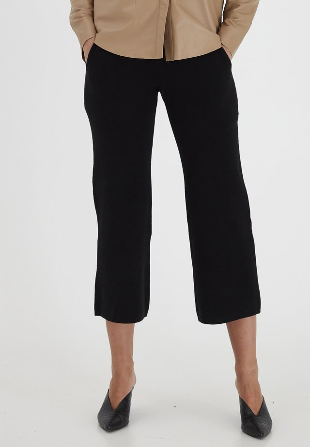 DRLEATRIX - Trousers - black