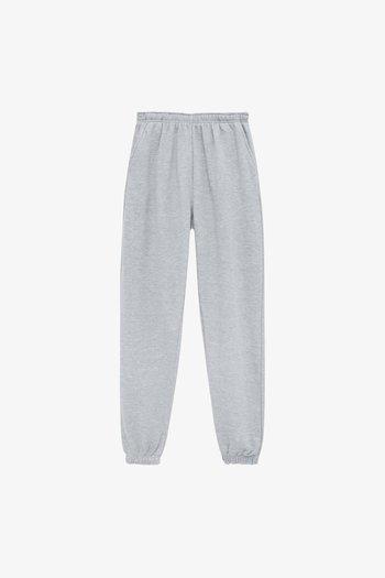 BASIC-JOGGER - Pantaloni sportivi - mottled grey