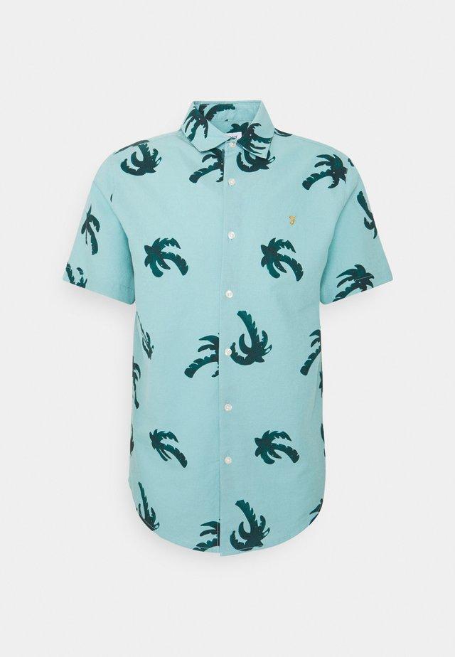ELENA PRINTED - Skjorta - reef green