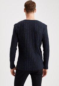 DeFacto - Stickad tröja - indigo - 1