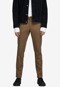 Jack & Jones - MARCO BOWIE  - Pantalones chinos - dark earth - 0