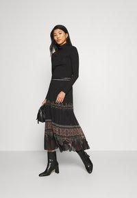 Desigual - FAL MURRAY - A-line skirt - black - 1