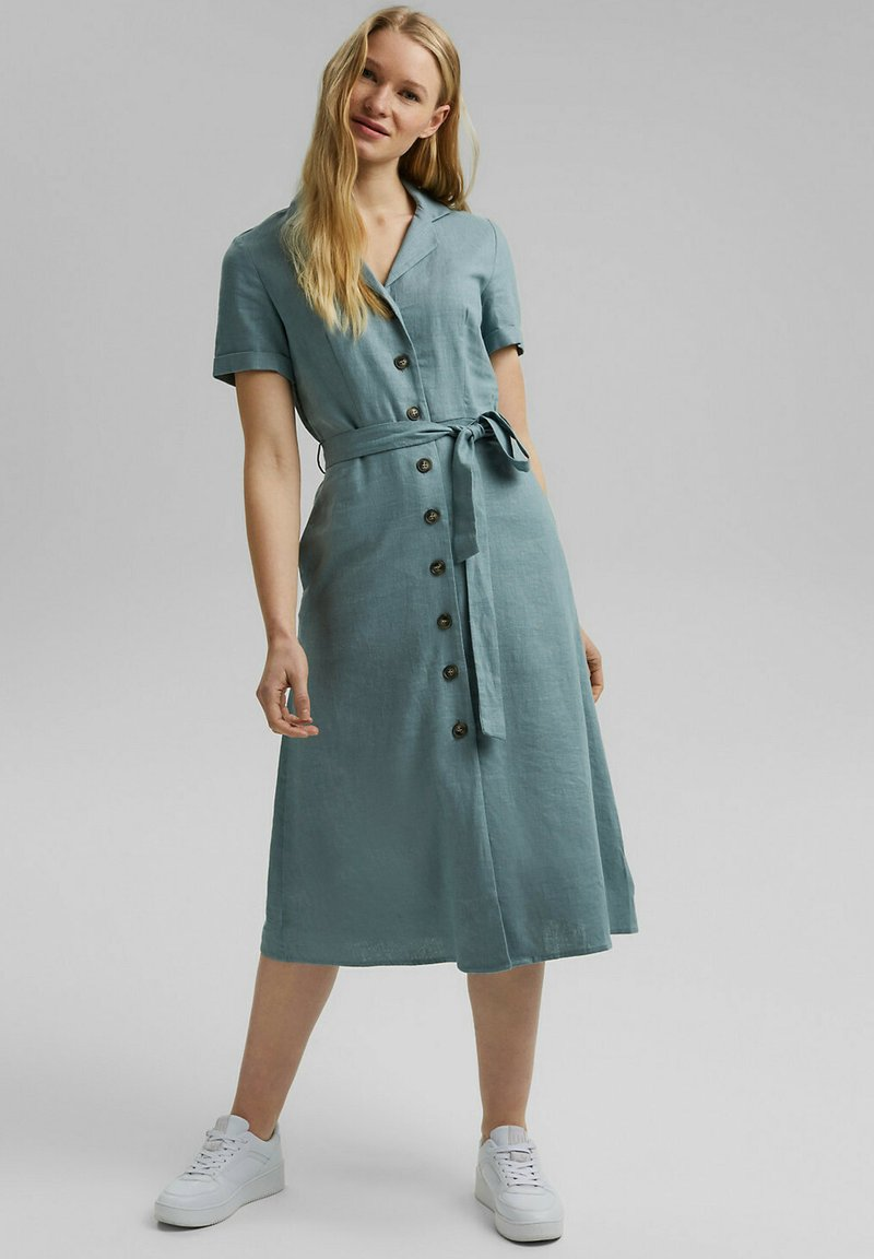 Esprit - Shirt dress - turquoise