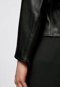 BOSS - NEPAS - Giacca di pelle - black - 4