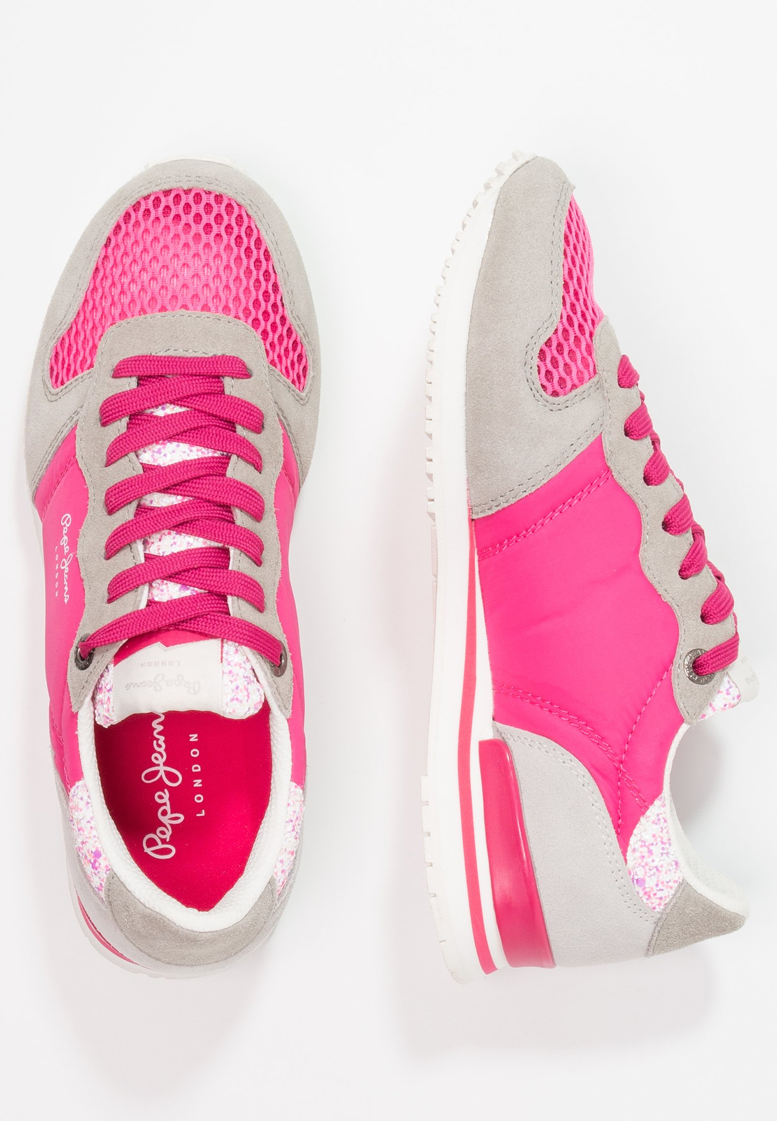 Pepe Jeans GABLE Joggesko disco pink Zalando.no