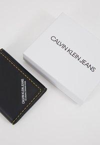Calvin Klein Jeans - SMOOTH STITCH CARD CASE - Wallet - black - 2