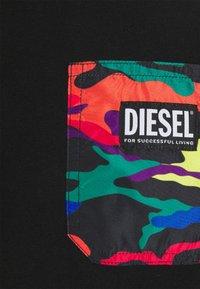 Diesel - PRIDE DIEGO UNISEX - Print T-shirt - black - 2