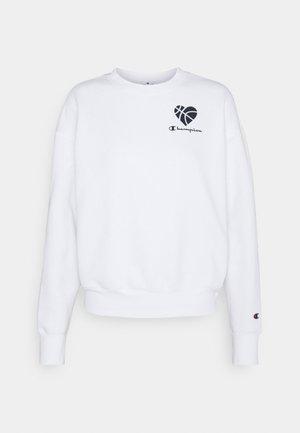 LOVE CREWNECK - Sweatshirt - white