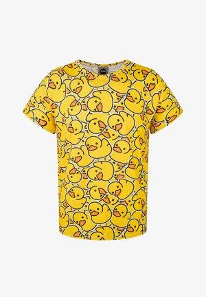 RUBBER DUCK - T-shirt print - yellow