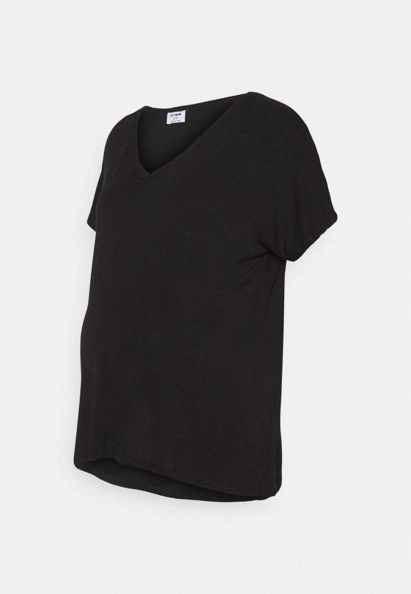 Cotton On - MATERNITY EVERYDAY KARLY SHORT SLEEVE - T-shirt basic - black