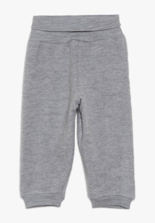 FELTED TROUSERS BABY - Broek - melange grey