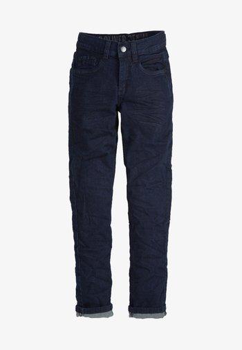 SEATTLE - Straight leg jeans - dark blue denim stretch